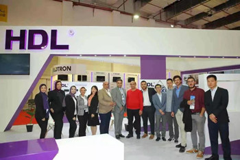 Egypt President Sisi Experienced HDL Smart Home