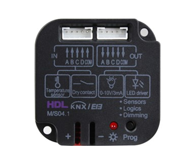 KNX 4-Zone Dry Contact Module