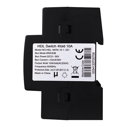 KNX 4CH 10A High Power Switch Actuator