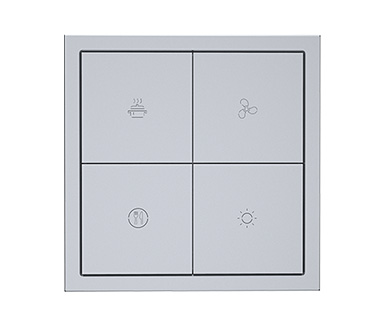 KNX Tile Series 4 Buttons Panel A