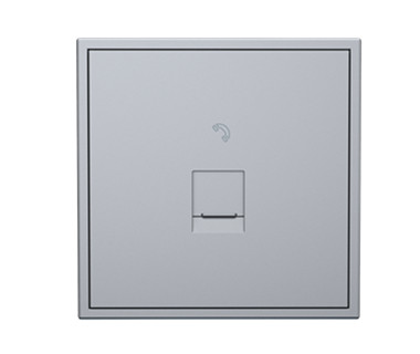 Tile 1 Port Telephone Wall Jack