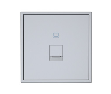 Tile 1 Port Ethernet Wall Plate